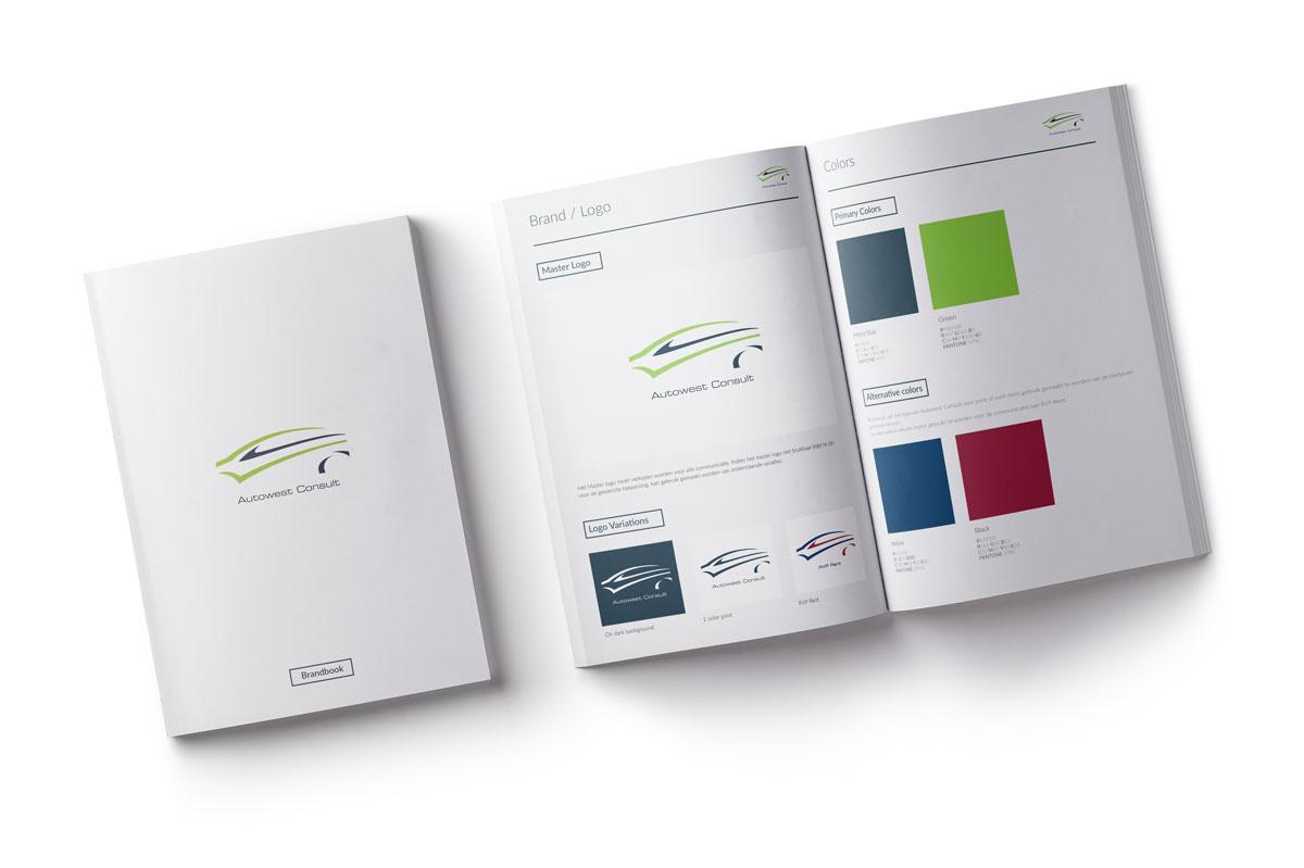 Mioo Design - Autowest Consult - Stijlgids - Creatief reclamebureau Roeselare & Communicatiebureau Roeselare - Grafisch ontwerp - Freelancer - West-Vlaanderen - Brugge - Kortrijk