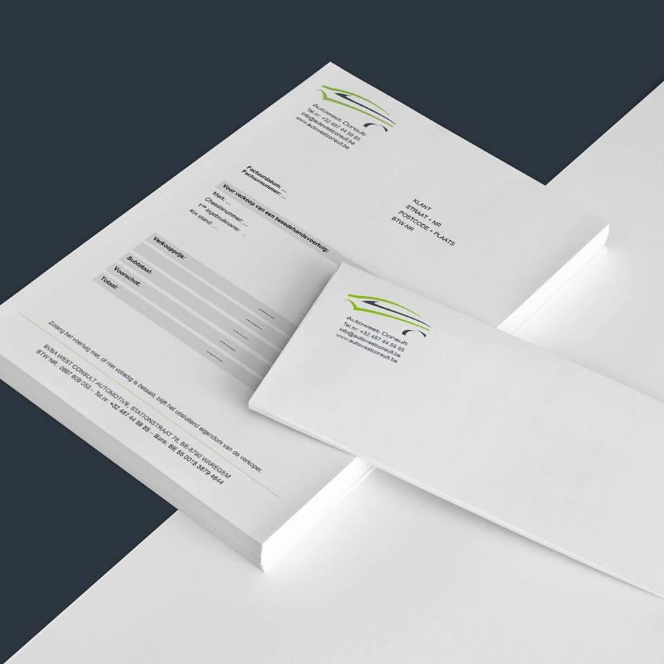 Mioo Design - AwC Briefpapier ontwerp - Creatief reclamebureau Roeselare & Communicatiebureau Roeselare - Grafisch ontwerp - Freelancer - West-Vlaanderen - Brugge - Kortrijk