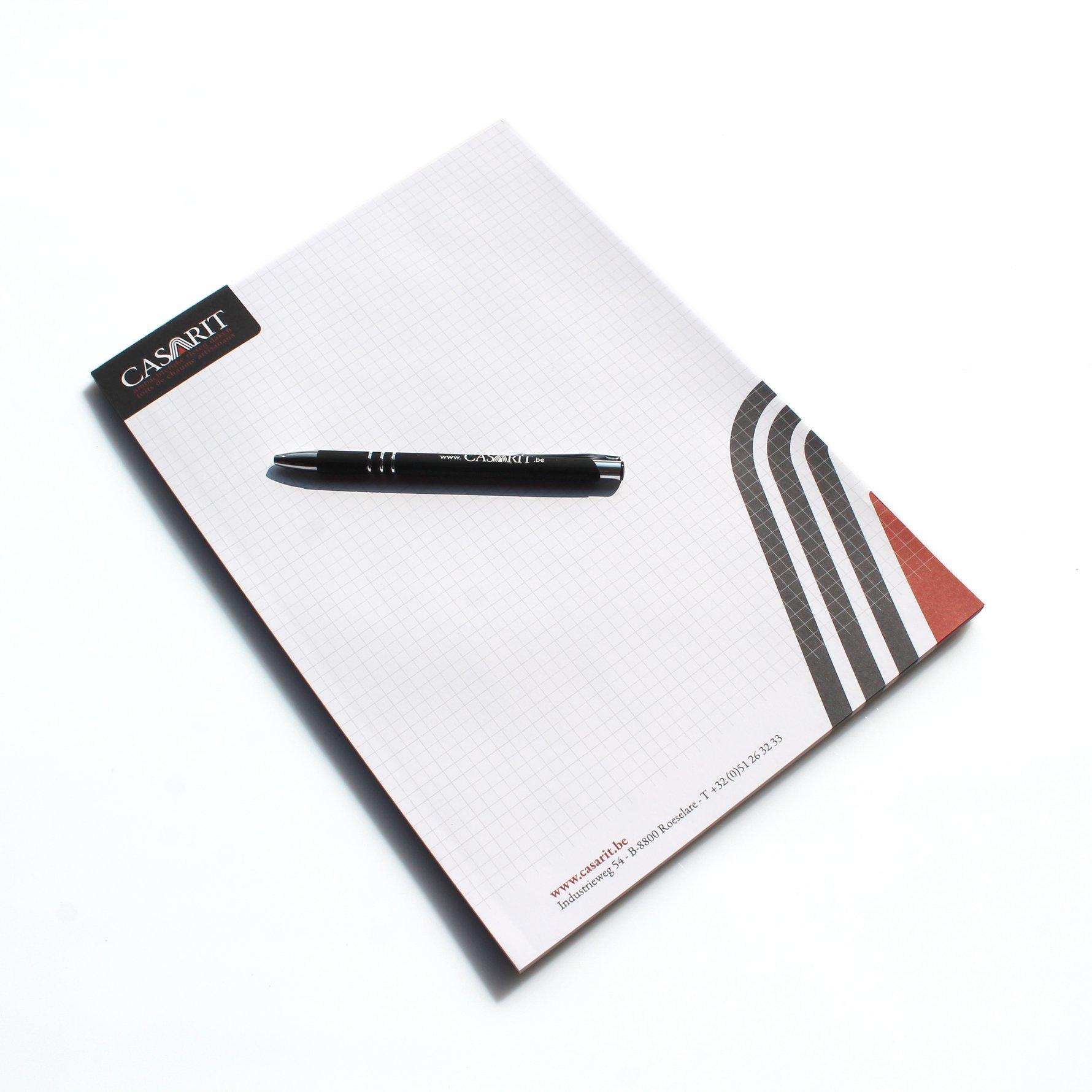 Mioo Design - Casarit Briefpapier ontwerp - Creatief reclamebureau Roeselare & Communicatiebureau Roeselare - Grafisch ontwerp - Freelancer - West-Vlaanderen - Brugge - Kortrijk