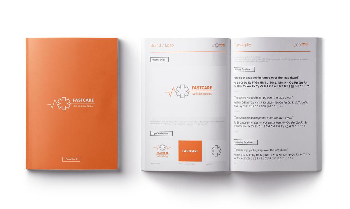Mioo Design - Fastcare Huisstijl ontwerp - Brandbook - Creatief reclamebureau Roeselare & Communicatiebureau Roeselare - Grafisch ontwerp - Freelancer - West-Vlaanderen - Brugge - Kortrijk