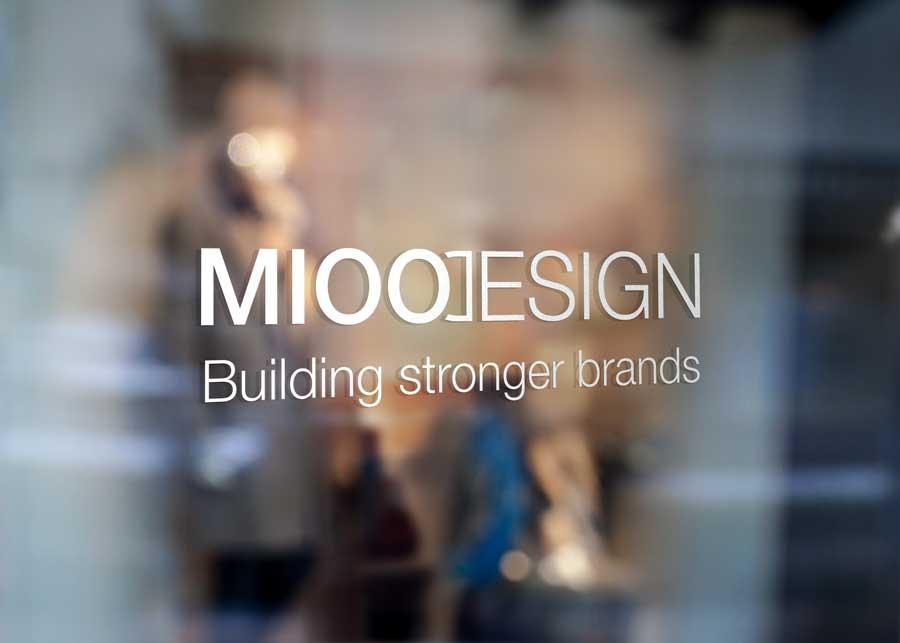 Reclamebureau Grimbergen - Logo Mioo Design - West-Vlaanderen