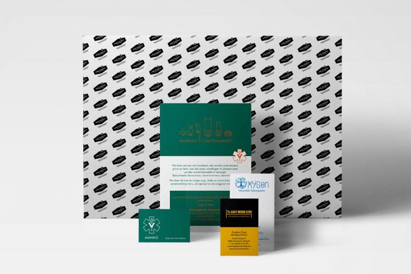 Reclamebureau Halle - Mioo Design - Offline communicatie - West-Vlaanderen