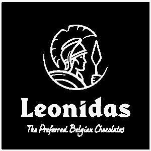 Reclamebureau Westerlo - Mioo Design - Klant Logo Leonidas - West-Vlaanderen